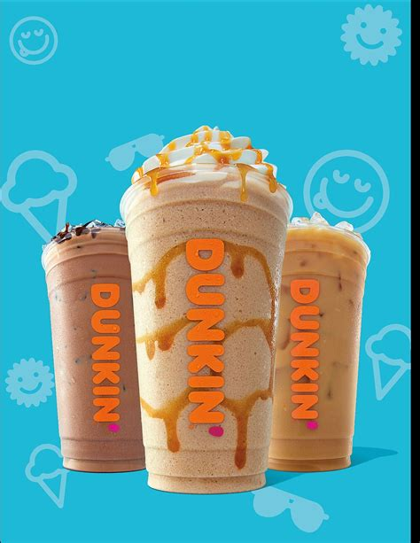 Iced coffee fans can get a new treat within refrigerator aisle of the grocery stores: Dunkin' releases bright and fun seasonal menu items