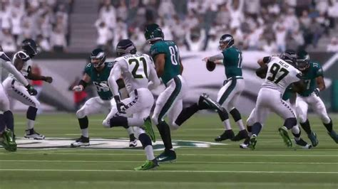 madden  eagles  seahawks youtube