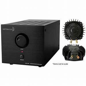 Dayton Audio Apa150 Amp With 2 Aura Pro Bass Shakers Bundle