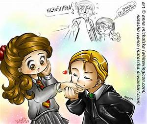 draco and hermione by babyjami on DeviantArt