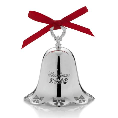silver christmas bell 2016 towle silver christmas