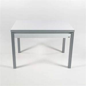 Table De Cuisine Avec Tiroir : petite table de cuisine extensible en formica avec tiroir ~ Teatrodelosmanantiales.com Idées de Décoration