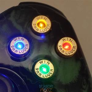 Xbox 360 Bullet Buttons Get Lit Up