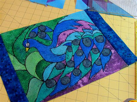 peacock quilt pattern suzy s majestic peacock ebook pattern