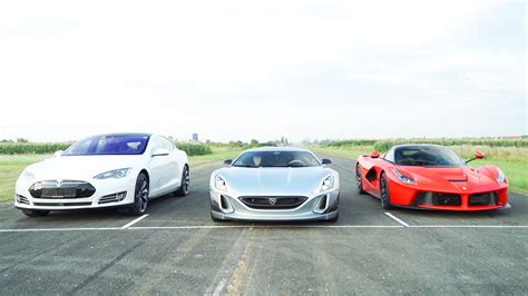 Rimac Concept One Vs Laferrari