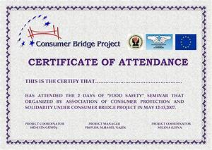 Best photos of seminar certificate of attendance template for Certificate of attendance seminar template