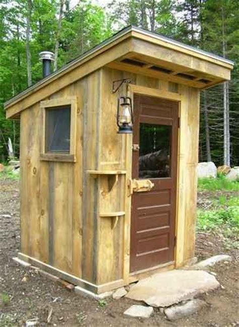 outhouse plans  ideas   homestead small cabin