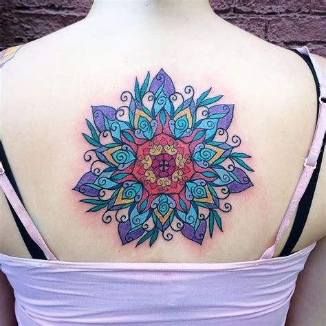 mandala watercolor tattoo color mandala  canyon webb