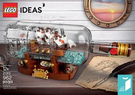 bottle l ideas lego ideas 21313 ship in a bottle l annonce officielle