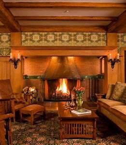 1124 best Arts & Crafts Home Interior images on Pinterest