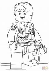 Coloring Police Space Comments sketch template