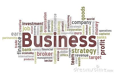 business word cloud stock image image
