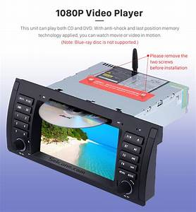 Android 8 0 Car Dvd Player For Bmw X5 E53 With Gps Radio
