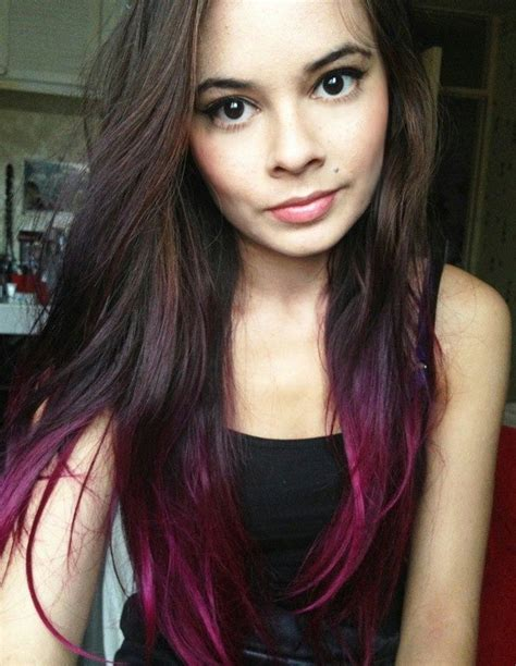 25 Best Ideas About Dyed Hair Ends On Pinterest Colored