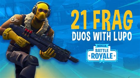 frag duos  lupo fortnite battle royale gameplay