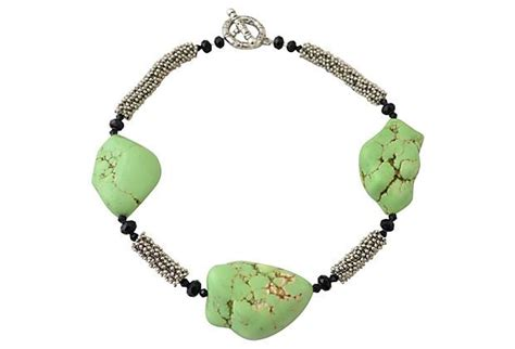 turquoise cabinets kitchen green turquoise and pewter necklace jewels 2966