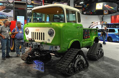 jeep forward control sema best of show hottest 2014 sema show cars motor trend