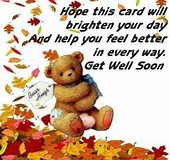 Image result for Feel Better Quote Brighten Day