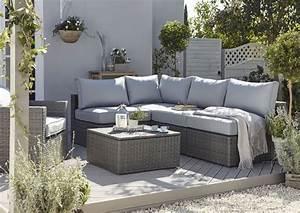 Salons De Jardins : salons de jardin en r sine mobilier outdoor r sistant c t maison ~ Teatrodelosmanantiales.com Idées de Décoration
