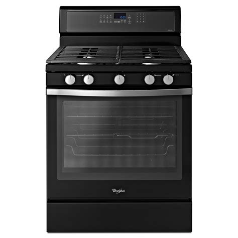 whirlpool gas range oven cu convection lowes freestanding rapid ice ft fan air cleaning self sears