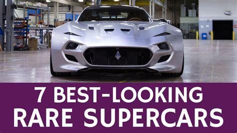 rare sports cars    supercars