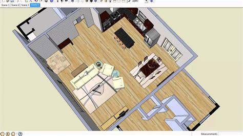 arrange furniture  open floor plans youtube