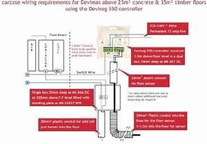 Devi Underfloor Heating Wiring Diagram