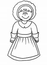 Pilgrim Coloring Printable Sheet Grace Followers sketch template