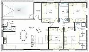 plan maison 5 chambres gratuit 9 plans de plain pied With plan de maison plain pied 5 chambres