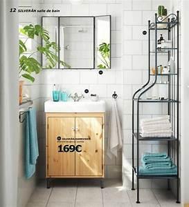 Salle de bains ikea le nouveau catalogue 2017 est en for Salle de bain design avec meuble salle de bain 60 cm castorama