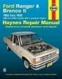 ford ranger  bronco ii automotive repair manual