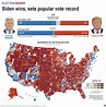 These six graphics illustrate the presidential election ...