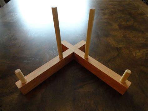 hardwood cutting board display stand