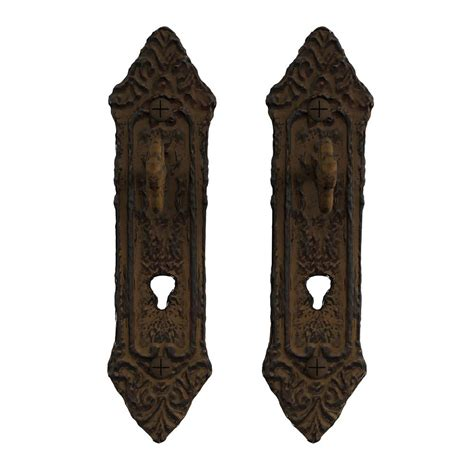 Decorative wall brackets are timeless home decor elements. Lavish Home Cast Iron Rustic Decorative Key in Lock Wall Mount Hooks (2-Pack) in Brown-HW0200025 ...