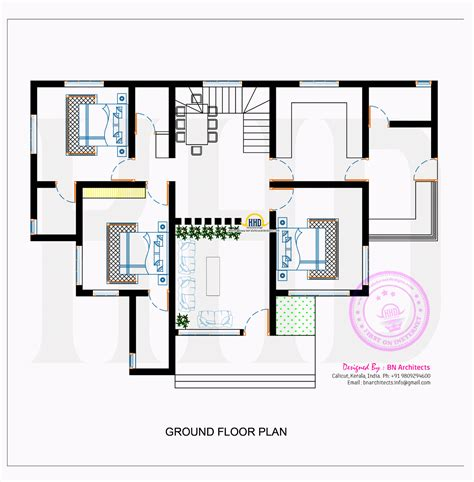 modern home floorplans contemporary house with floor plan by bn architects