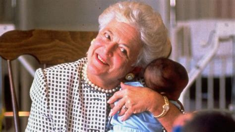 Remembering Another Side Of Barbara Bush A Supporter Of