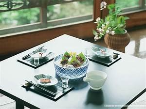 Summer Japanese Food and Table Setting 8 - Wallcoo.net