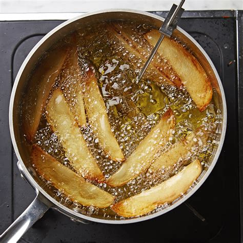 frying potatoes cooking basics oil fried better