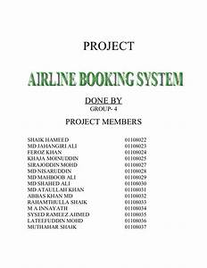 Airline Ticketing On Er Diagram Project