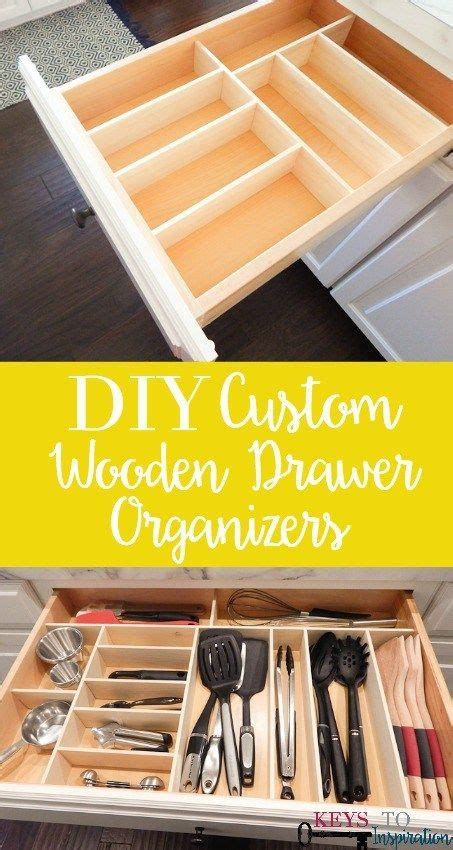 Diy Kitchen Drawer Organizer by Diy Custom Wooden Drawer Organizers Wood Projects