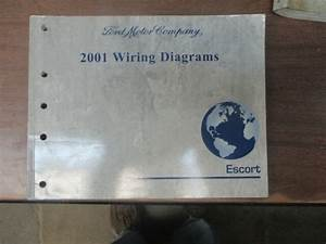 2001 Ford Escort Factory Oem Wiring Diagrams Manual