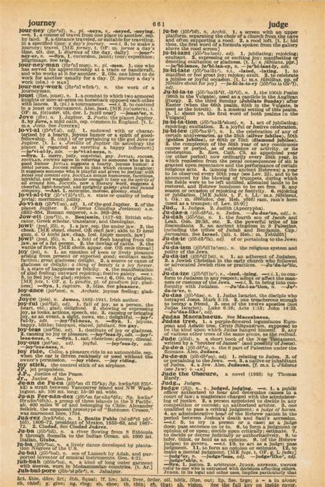 vintage dictionary page printables vintage newspaper