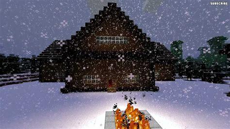 minecraft building design ideas snow biome houses