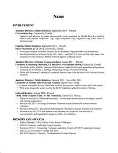 political resume template word how to for your
