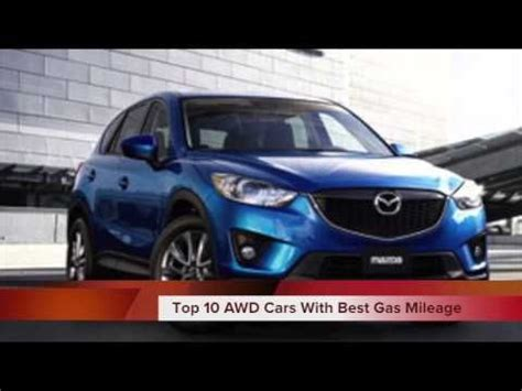 video top   awd cars   gas mileage