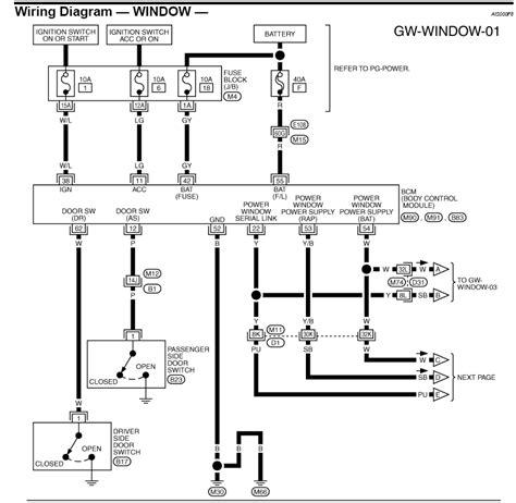 wiring diagram for power window switch nissan 350z forum nissan 370z tech forums