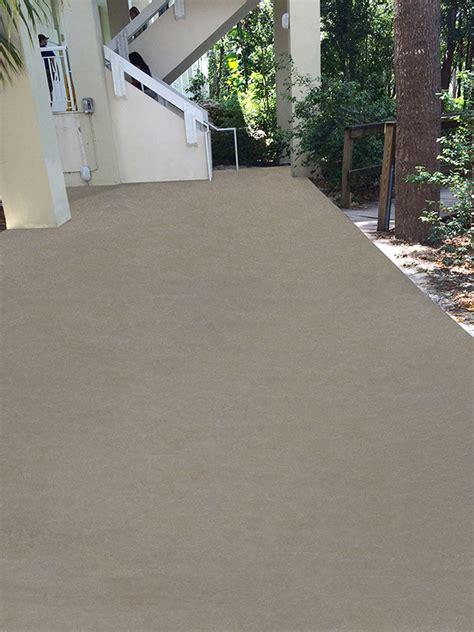 weatherproof tough outdoor concrete flooring decking