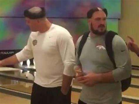 total pro sports denver broncos hazing  rookies