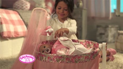smyths toys baby annabell rocking cradle youtube