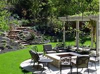 backyard landscape plans Backyard Landscape Ideas with Natural Touch for Modern Home Exterior - Amaza Design